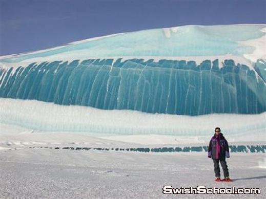 صور مدهشة لأمواج متجمدة في القارة القطبية الجنوبية