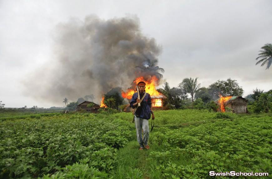 اخطر واقوى صور تم عرضها في عام 2012