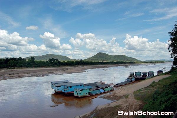 السياحه في لاوس البلاد الاكثر غموضا في شبه جزيره الهند