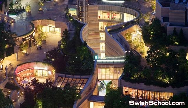 تصميم حديقه مميزه في احدى دول اليابان