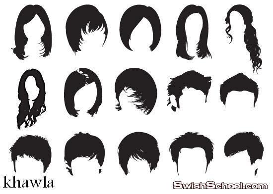 فرش شعر مستعار للنساء ,, طويل ,, قصير
