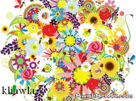 فيكتور ورود بالوان رائعه ,, زهور ,, ورود