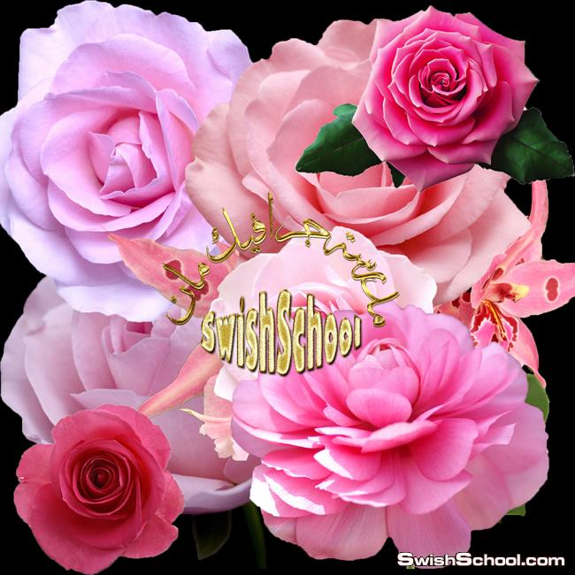 كليب ارت زهور وورد وفريمات رومانسيه لتصاميم الكروت والمناسبات السعيده 2015
