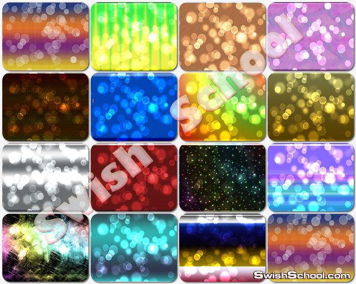 خلفيات بوكا ملونه للتصاميم والتواقيع الكول _ خلفيات فوتوشوب 2013