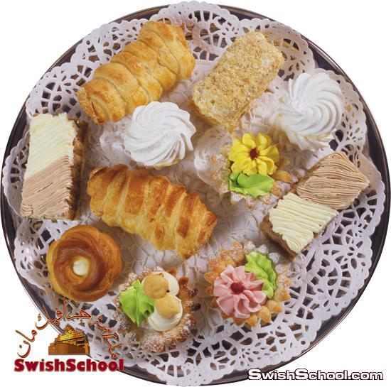 صور مفرغه اطباق حلويات عاليه الدقه لتصاميم اليفط في الدعايه والاعلان png