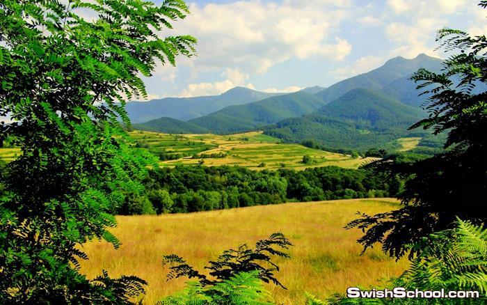خلفيات طبيعة لقمم الجبال الخلابة عالية الدقة 30خلفية