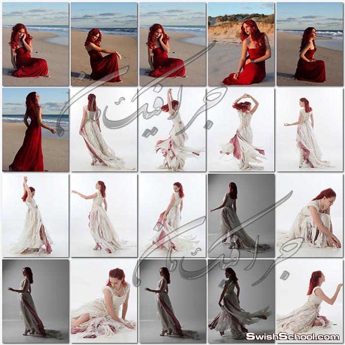 صور بنات موديلز  لتصاميم الدمج (الجزء 2)