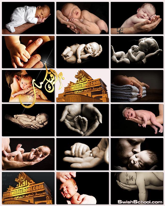صور اطفال عاليه الجوده للتصميم jpg - ستوك فوتو بيبي حديثي الولاده