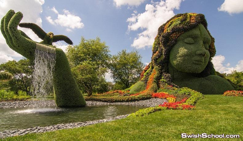حديقة مونتريال في كندا