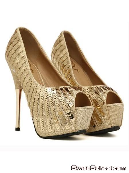 اشيك احذية هاى هيلز لصيف  , اجمل شوزات كعب عالى