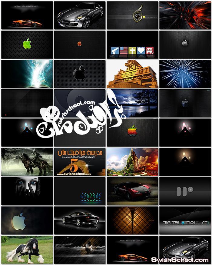 خلفيات سوداء للتصميم وسطح المكتب jpg - اجمل الخلفيات السوداء للفوتوشوب