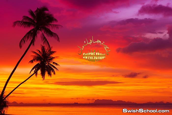 اجمل خلفيات غروب الشمس على الشواطئ والبحار عاليه الدقه jpg