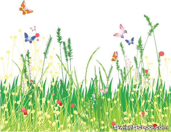 صور مفرغه اعشاب png - سكرابز حشائش للتصميم