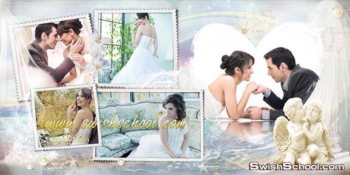 البوم صور رومانسي عالي الجوده لاستديوهات التصوير psd - احدث البومات الصيف للعرايس والعرسان