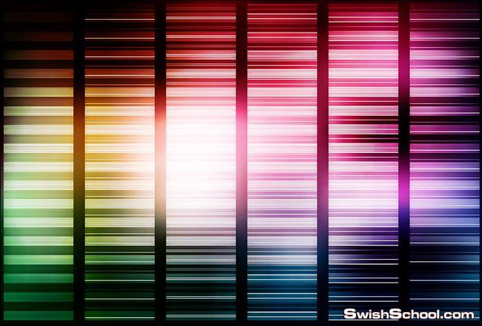 اجمل الخلفيات الملونه عاليه الجوده لتصاميم الجرافيك eps , jpg - الجزء الاول