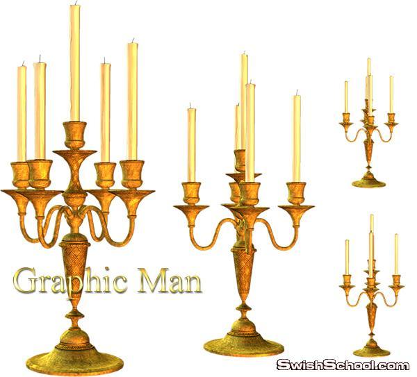 سكرابز شموع png - صور شموع رومانسيه بدون خلفيه - شمعدان وشمعات للفوتوشوب