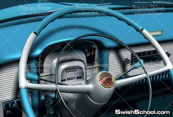 موديل عربية لبرنامج سينما فور دى , موديل سيارة لبرنامج c4d مدرسة جرافيك مان
