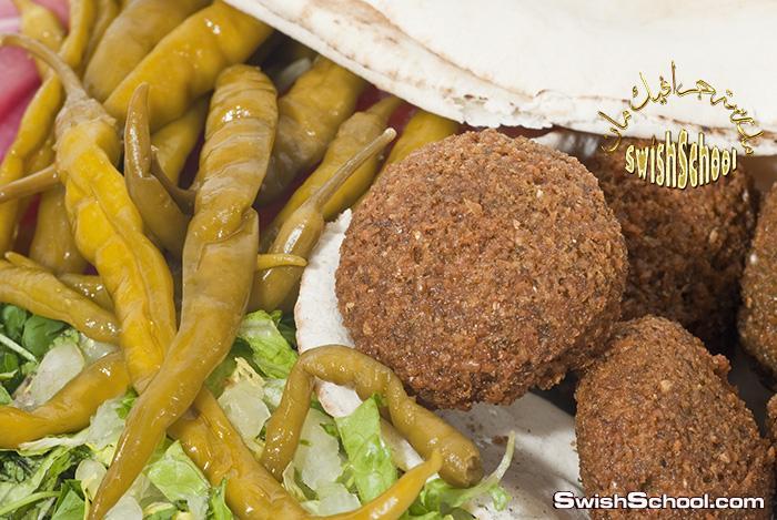 صور اكلات مصريه فلافل و شاورما و كفته عاليه الجوده للدعايه والاعلان