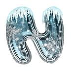 اجمل واروع حروف الشتاء والثلج بدون خلفيه psd , png - مرفقات فوتوشوب العام الجديد