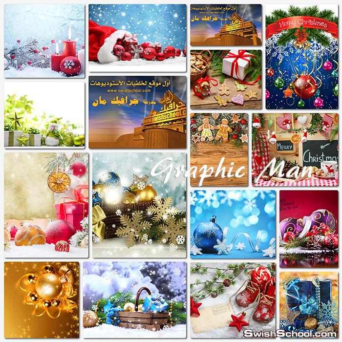 ستوكات كريسماس jpg - خلفيات تصاميم السنه الجديده عاليه الجوده - الجزء الثالث