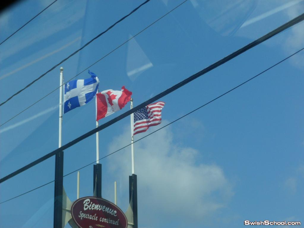 رحلتي لمقاطعه كيبك الكنديه