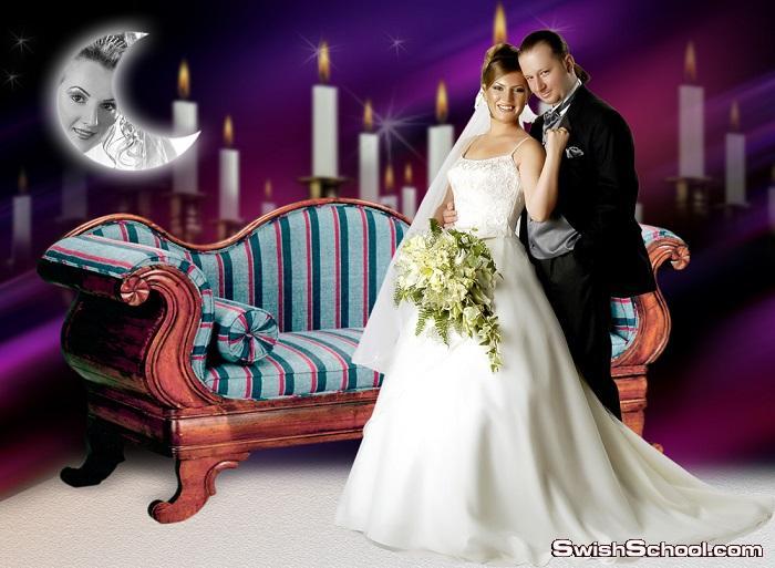 خلفيات استوديو بورتريه احترافيه جدا psd - خلفيات زفاف للمصورين بي اس دي