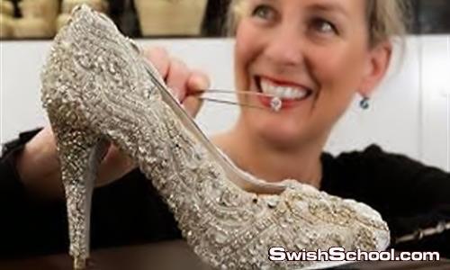اغلى حذاء بالعالم بمبلغ 1.3 مليون دولار ^_^