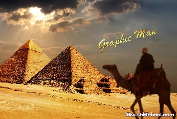 ستوك فوتو اهرامات مصر وابو الهول عاليه الدقه لتصاميم الدمج في الفوتوشوب jpg