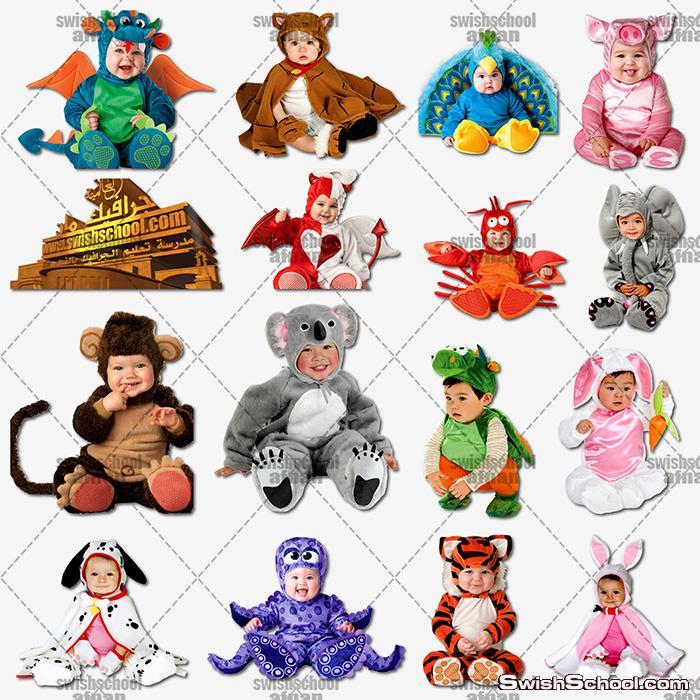 اروع صور الاطفال بملابس تنكريه عاليه الجوده لتصاميم الاستديوهات png - الجزء الرابع