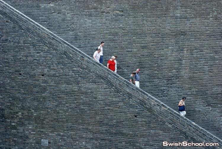 صور السور القديم لمدينة شيان الصينية
