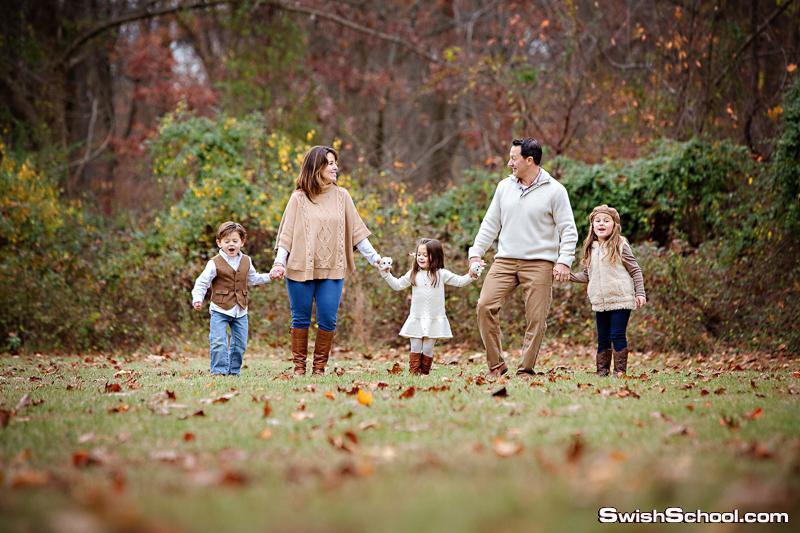 وضعيات لتصوير العائلة , وضعيات تصوير , وضعيات تصوير خارجى , صور لجلسات التصوير العائلية , اوضاع تعليم التصوير