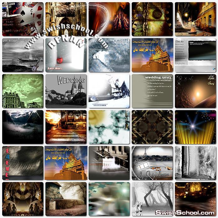 خلفيات بوسترات الاكشن لتصاميم الشباب jpg - بوسترات جرافيك لاستديوهات التصوير - الجزء الثاني