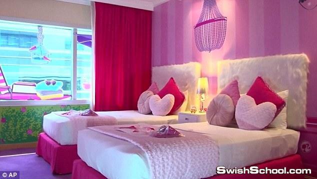 افتتاح أول غرفة فندقية لمحبي باربي