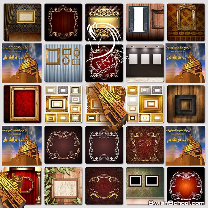 خلفيات لوحات وتابلوهات فاخره على الحائط jpg - خلفيات لوحات كلاسك لاستديوهات التصوير عاليه الجوده