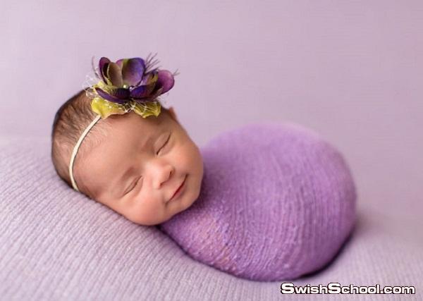أجمل لقطات لأطفال رُضع يبتسمون أثناء نومهم