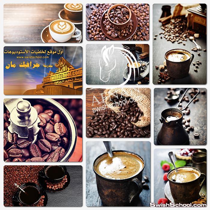 ستوك فوتو قهوه وبن محمص عالي الجوده لتصاميم الدعايه والاعلان jpg