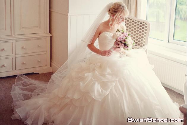 فساتين الاحلام , فساتين افراح خياليه , فستان ليله العمر للعرايس