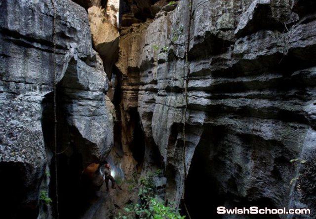احدى العجائب الجيولوجية في العالم غابه الاحجار في الصين - صور ومعلومات