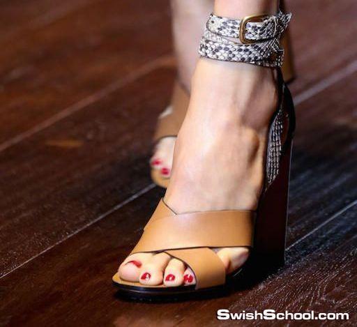 الصيف والبنات ^_^ , احدث تشكيله احذيه صيف 2015