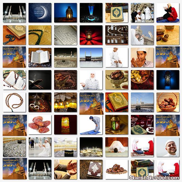 تحميل اقوى  خلفيات شهر رمضان عاليه الدقه للتصاميم الاسلاميه jpg