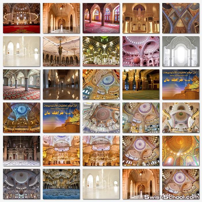 خلفيات اسلاميه للتصميم jpg - خلفيات من داخل المسجد - احدث الخلفيات الدينيه عاليه الجوده للدذاين jpg