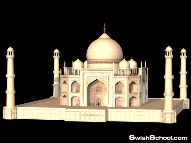 موديل مسجد سينما فور دي - مباني اسلاميه cinema 4D