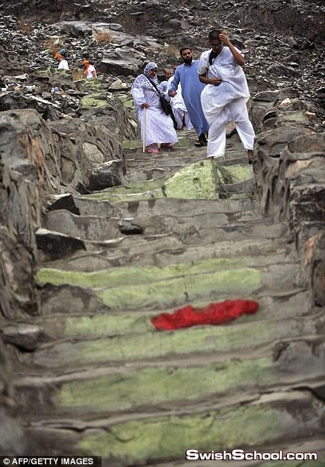 صور الحجاج  على جبل عرفه في مكه المكرمه _ صور من اجمل بقاع الارض