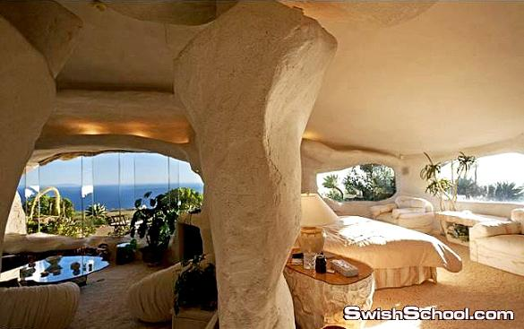 منزل الصخره في كاليفورنيا وثمنه 300 مليون دولار