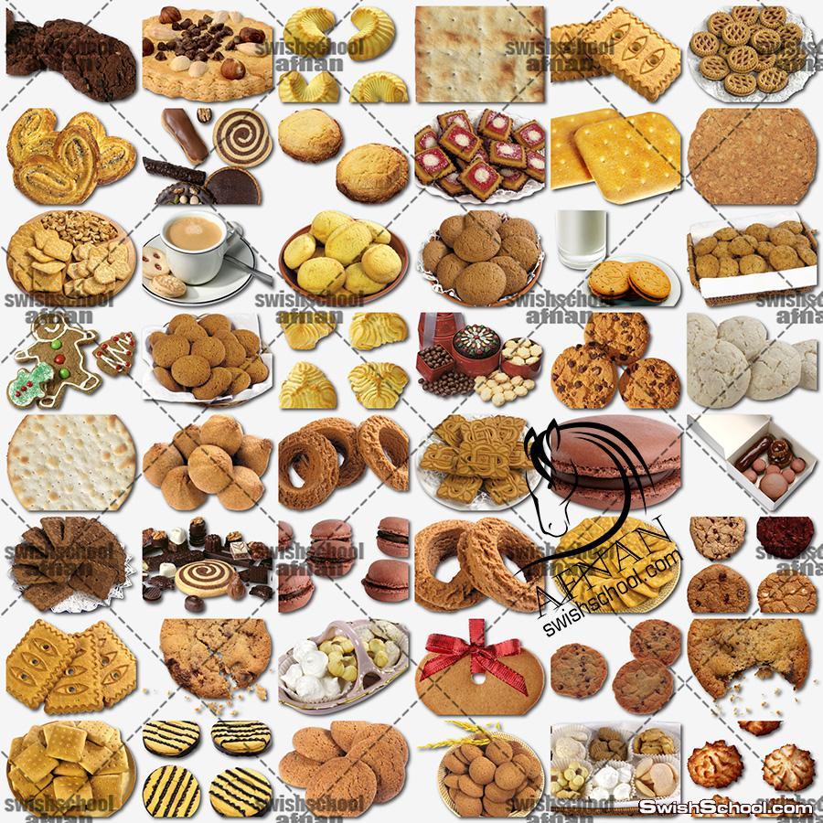 صور مفرغه بسكوت بدون خلفيه png - صور عاليه الجوده ليفط الدعايه لمحلات المخابز والحلويات