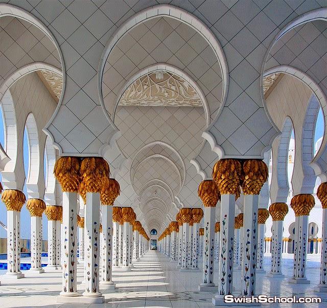 اجمل صور لمسجد الشيخ زايد اكبر مساجد العالم