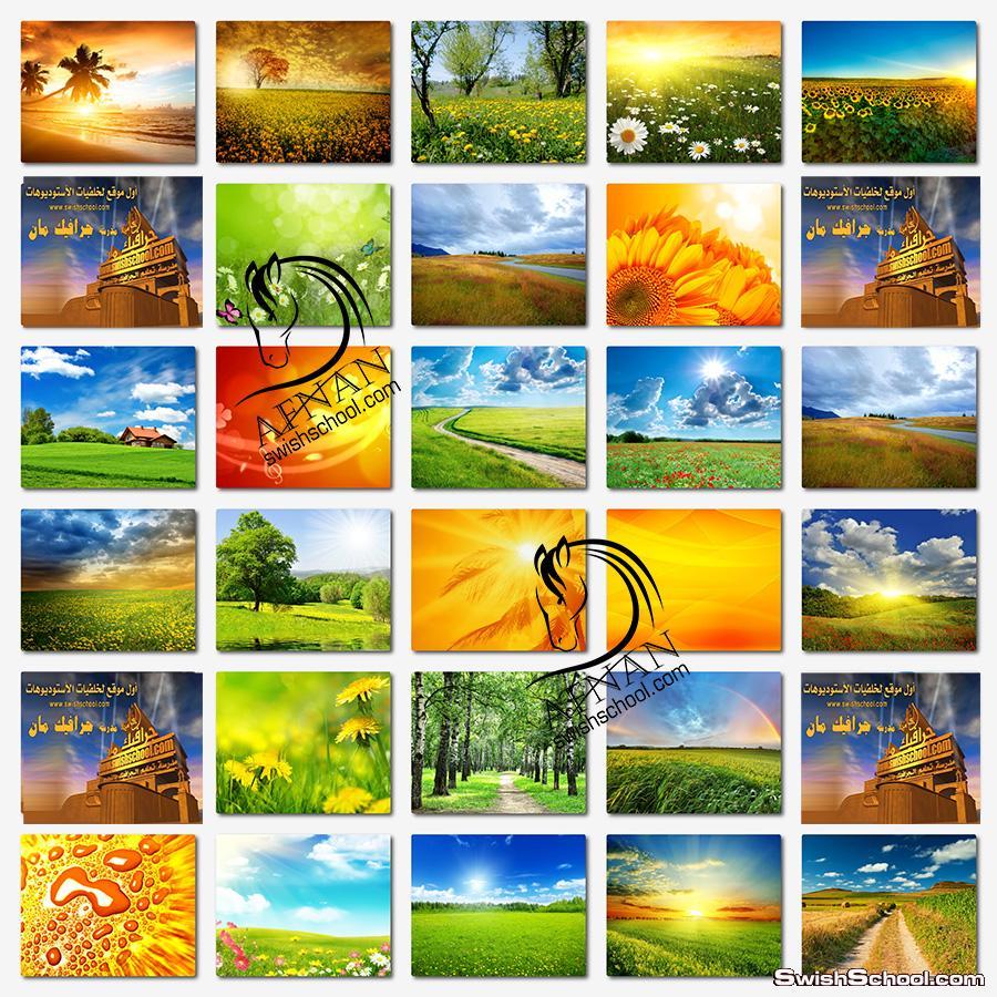 خلفيات الطبيعه والصيف عاليه الجوده لتصاميم الفوتوشوب jpg