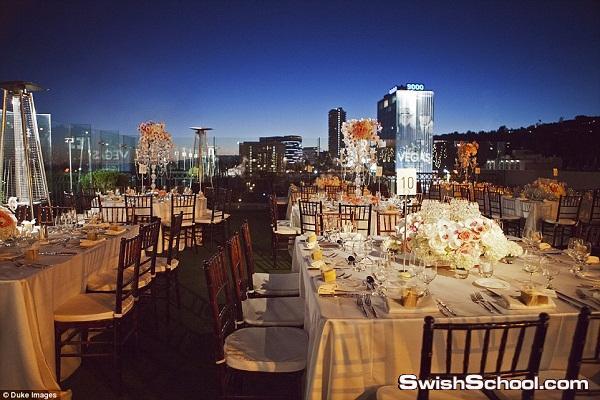 حفل زفاف باهظ الثمن التورته فقط بملوين دولار