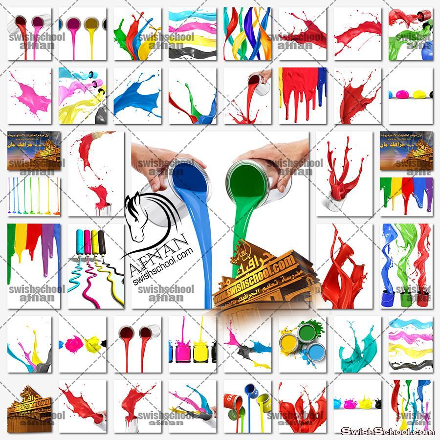 ستوك فوتو اصباغ ودهانات حائط عاليه الجوده للدعايه والاعلان jpg