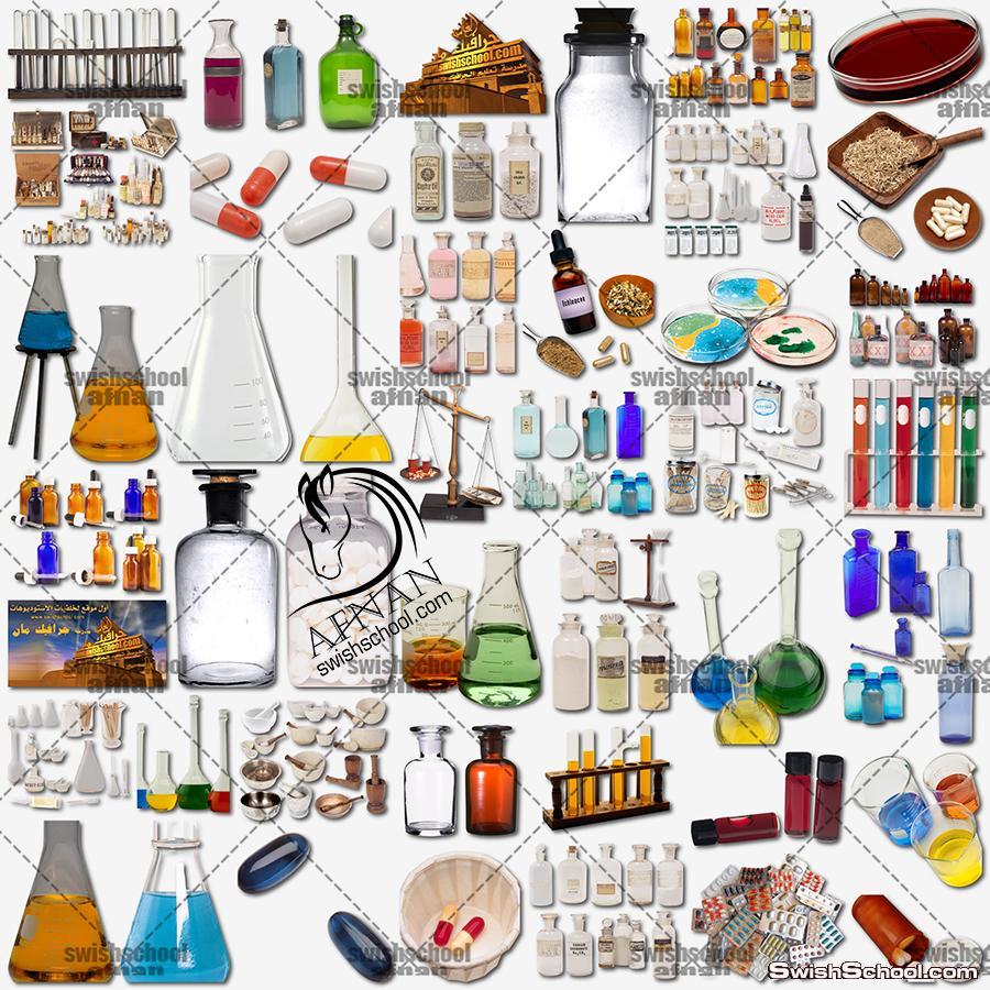 صور جرافيك مفرغه ادويه طبيه ومعامل تحاليل واطباء لتصاميم الدعايه والاعلان  Medical Graphics png